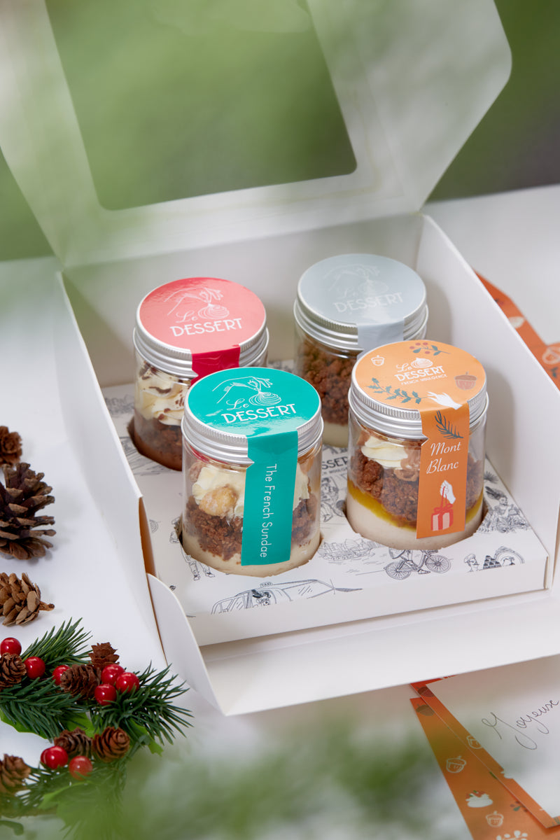 4-Jar Gift Box - Christmas Edition