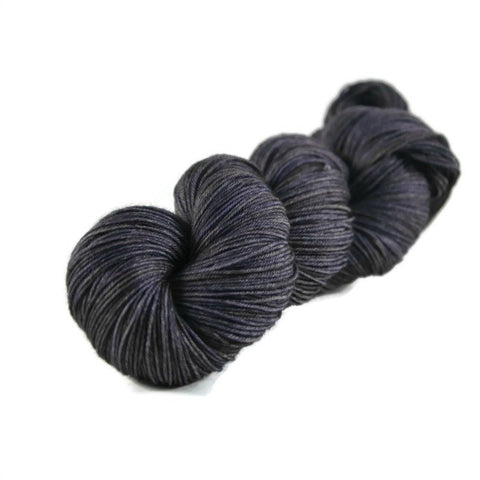 Percival Merino Nylon Fingering Sock Yarn - Gunmetal