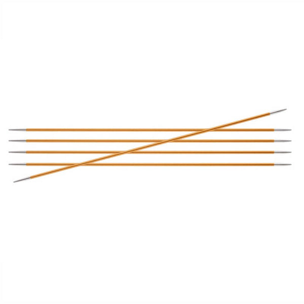 Knitter's Pride Zing Size US 1 (2.25mm) Double Point Needles