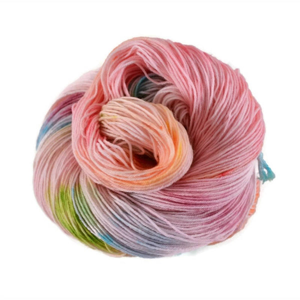 Percival Merino Nylon Fingering Sock Yarn - Tickled Pink