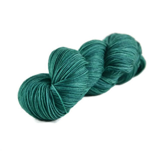 Percival Merino Nylon Fingering Sock Yarn - Emerald