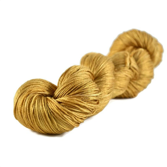 Fantasy Fingering Silk Yarn - Sunflower