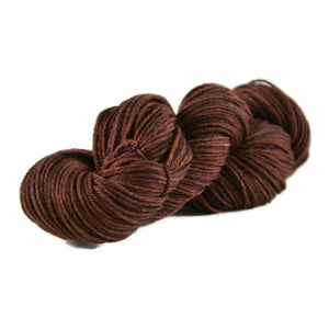 Merlin Merino Worsted Yarn - Chocolate