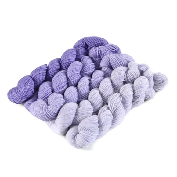 Gradient Fingering Mini Skein Set - Moonrise