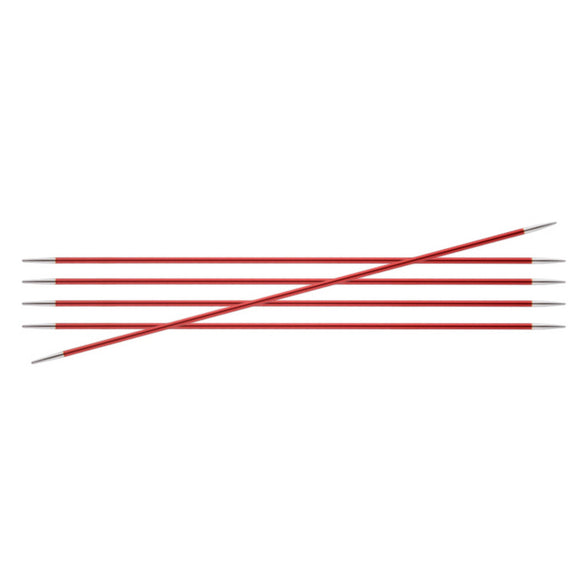 Knitter's Pride Zing Size US 1.5 (2.5mm) Double Point Needles