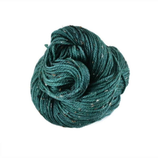 Shield Merino Tweed Aran Yarn - Emerald