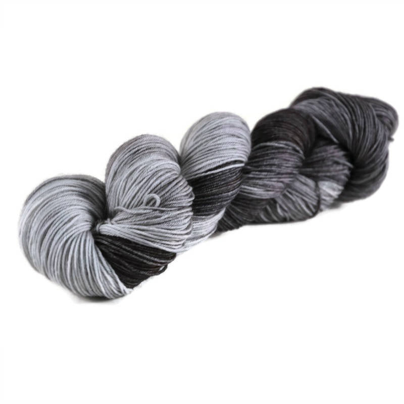 Percival Merino Nylon Fingering Sock Yarn - Stormcloud