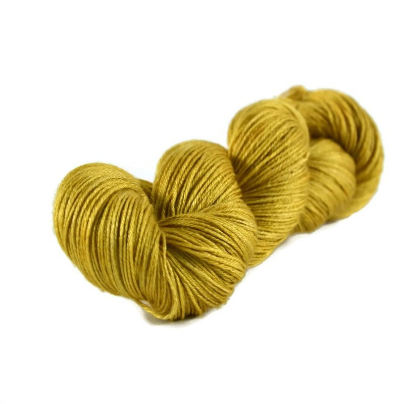 Tristan Merino Silk Fingering Yarn - Sunflower