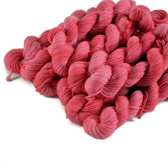Percival Merino Fingering Yarn Mini Skeins - Bubblegum