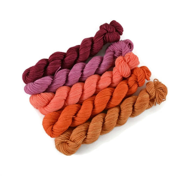 Percival Fingering Mini Skein Set - Harbour Island