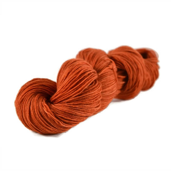 Percival Merino Nylon Fingering Sock Yarn - Pumpkin