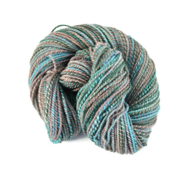 Handspun Superwash BFL Yarn 2 ply Aran weight, 145 yards - Maui