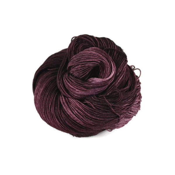 Percival Merino Nylon Fingering Sock Yarn - Aubergine