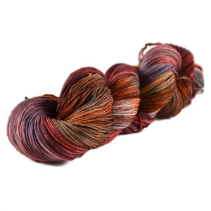 Percival Merino Nylon Fingering Sock Yarn - Catching Fire