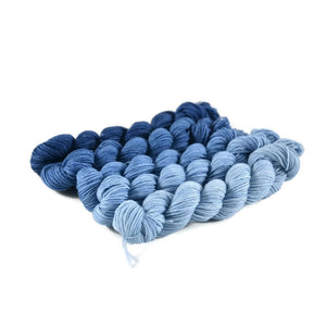 Gradient Fingering Mini Skein Set - Mayan