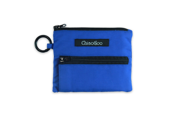 NEW! ChiaoGoo Blue Shorties Accessory Pocket Pouch