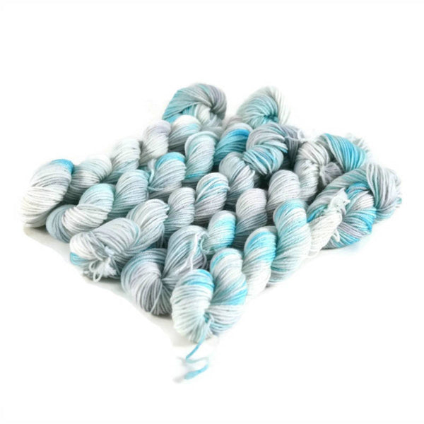 Percival Merino Fingering Yarn Mini Skeins - Falling Skies