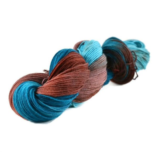 Excalibur BFL Nylon Fingering Sock Yarn - Enchanted