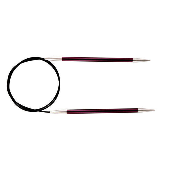 Knitter's Pride Zing Circular Needles size US 17 (12mm)