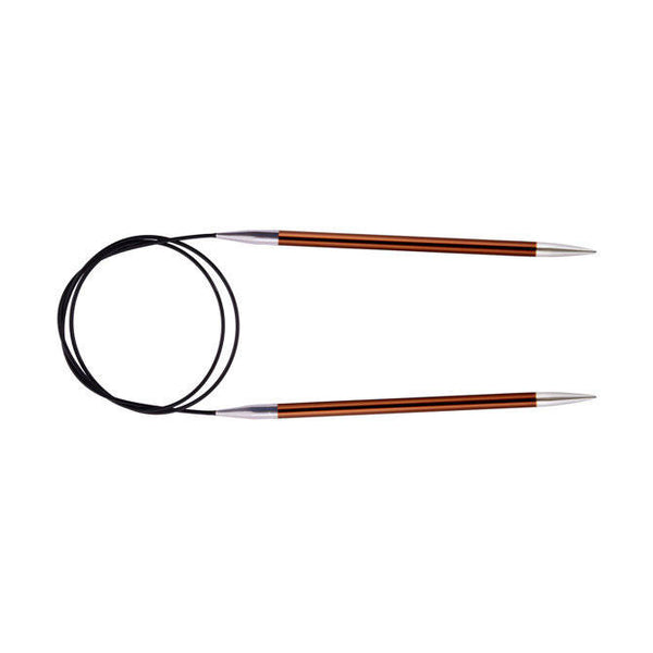 Knitter's Pride Zing Circular Needles size US 9 (5.5mm)