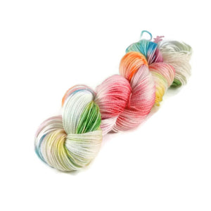 Adventure Merino Nylon Fingering Sock Yarn - Birthday Cake