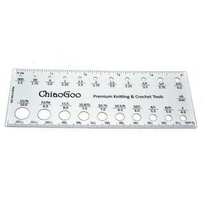 "ChiaoGoo 5"" Rectangle Needle Gauge"