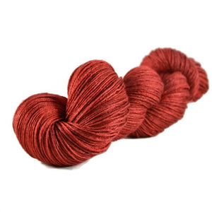 Tristan Merino Silk Fingering Yarn - Cherry Pie