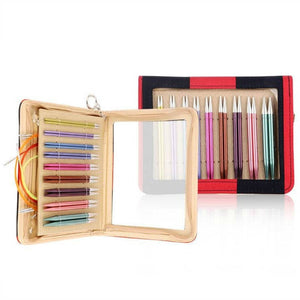 "Knitter's Pride Zing Deluxe 4.5"" Tip Interchangeable Knitting Set"