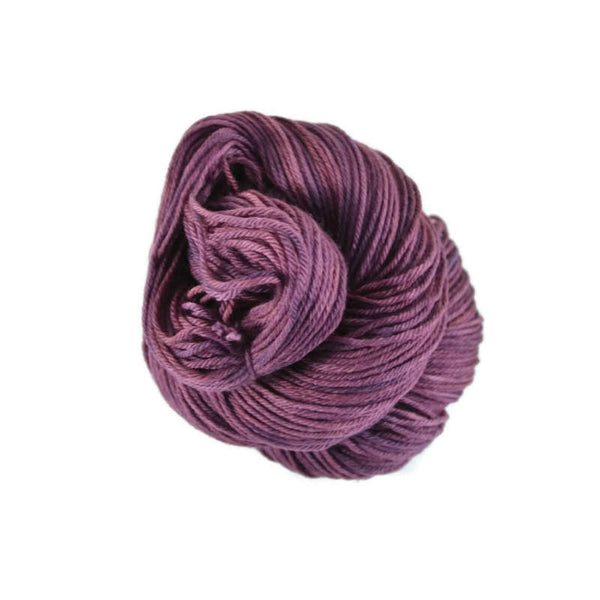 Merlin Merino Worsted Yarn - Eggplant