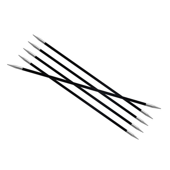 Knitter's Pride Karbonz Size US 6 (4mm) Double Point Needles