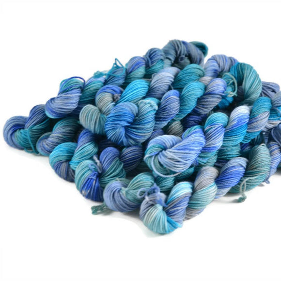 Percival Merino Fingering Yarn Mini Skeins - Oceans Between Us