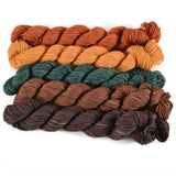 Percival Fingering Mini Skein Set - Vermont