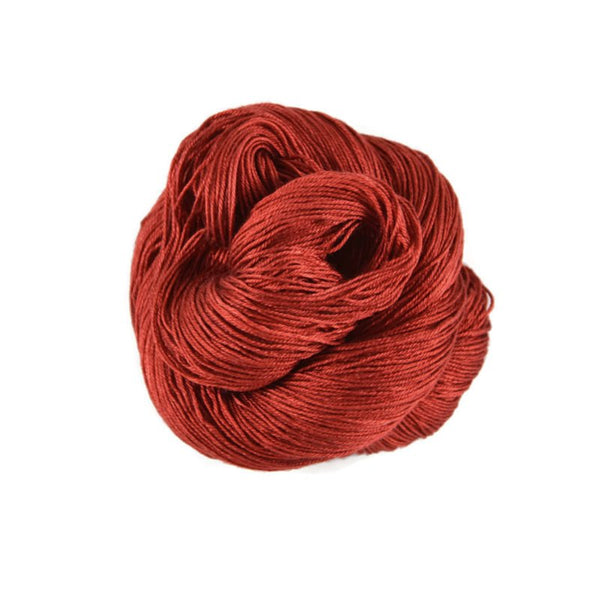 Fantasy Fingering Silk Yarn - Cherry Pie