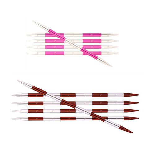 Knitter's Pride SmartStix Size US 6 (4mm) Double Point Needles