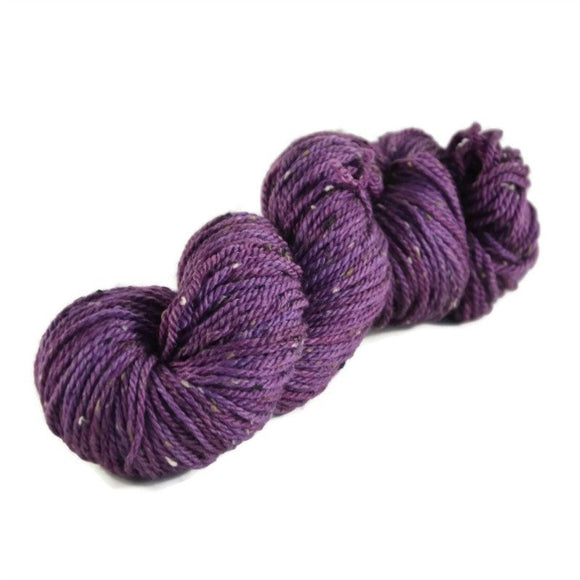 Shield Merino Tweed Aran Yarn - Amethyst