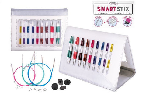 "Knitter's Pride SmartStix 4"" Tip Interchangeable Knitting Set"