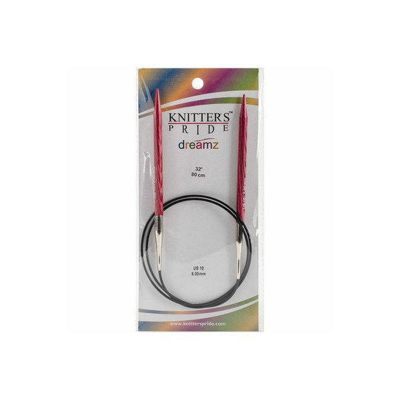 Knitter's Pride Dreamz Circular Needles size US 10 (6mm)