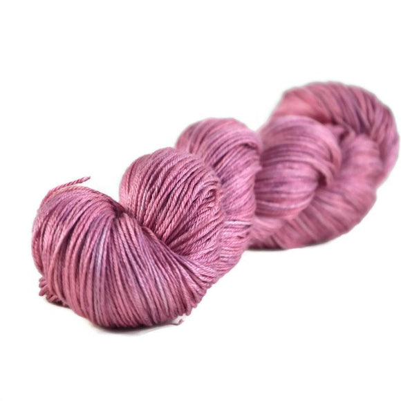 Fantasy Fingering Silk Yarn - Mulberry