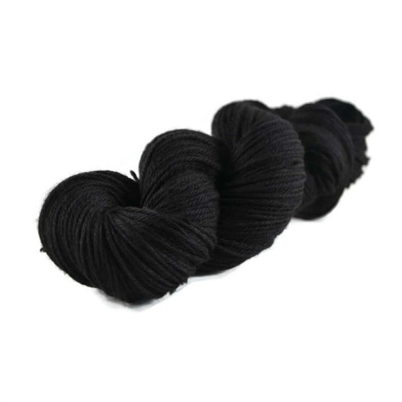 Merlin Merino Worsted Yarn - Onyx