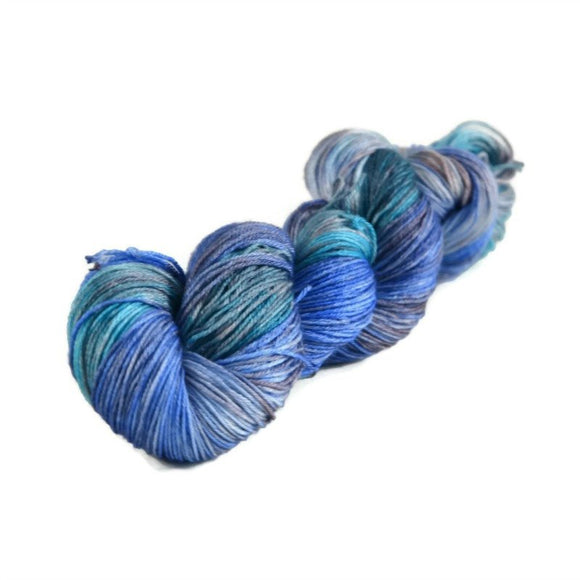 Tristan Fingering Merino Silk Yarn - Oceans Between Us