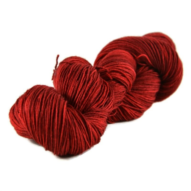 Excalibur BFL Nylon Fingering Sock Yarn - Cherry Pie