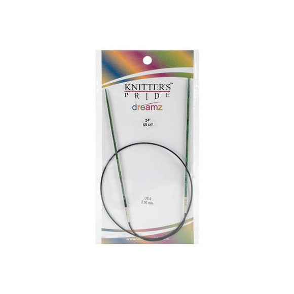 Knitter's Pride Dreamz Circular Needles size US 0 (2mm)