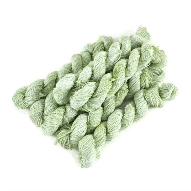 Percival Merino Fingering Yarn Mini Skeins - Pistachio