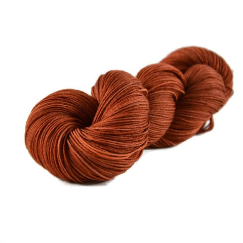 Percival Merino Nylon Fingering Sock Yarn - Copper