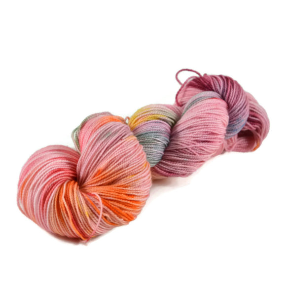 Adventure Merino Nylon Fingering Sock Yarn - Tickled Pink