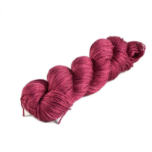 Tristan Fingering Merino Silk Yarn - Berry