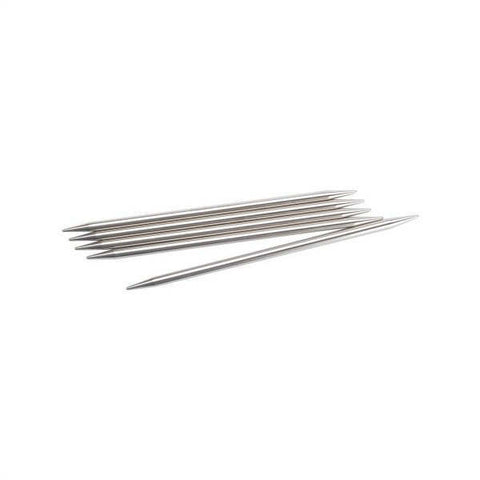 Chiaogoo Stainless Steel Double Point Knitting Needles Size US 5 (3.75mm)