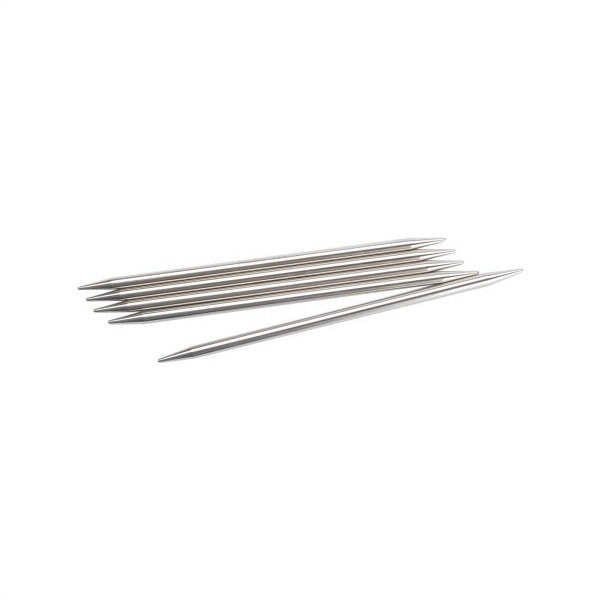 Chiaogoo Stainless Steel Double Point Knitting Needles Size US 6 (4mm)