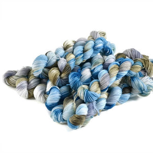 Percival Merino Fingering Yarn Mini Skeins - Cliffside