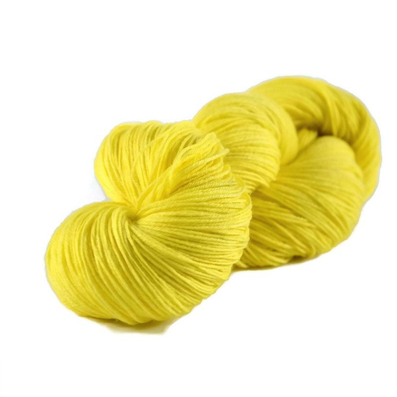 Percival Merino Nylon Fingering Sock Yarn - Lemon